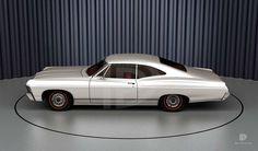 A Garagem Digital de Dan Palatnik | The Digital Garage Project: 1967 Chevrolet Impala Sport Coupe