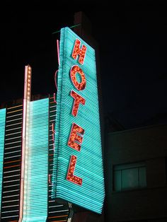 Sign from Binions Hotel and Casino