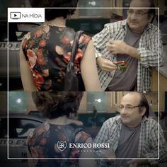 A camisa xadrez cai bem para todas as idades! Além de combinar com vários tipos de calças e bermudas, ela te ajuda a compor um visual massa para várias ocasiões.  Nas novelas, a camisa da Enrico Rossi está sempre presente e compondo o look dos personagens. Use-a também na vida real!   #Xadrez #tendência #lookdenovela #lookdefamoso #enricorossi