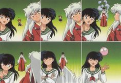 "Inuyasha ""Sit Boy"" by Lord Sesshoumaru, via Flickr Kagome's Cruel way of finding out if Inuyasha has moved on"
