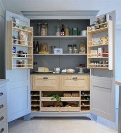 The Return Of Larder Cupboards — Kitchen Inspiration