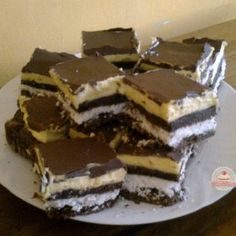 Hungarian Recipes, Tiramisu, Food And Drink, Cookies, Chocolate, Baking, Ethnic Recipes, Mascarpone, Crack Crackers