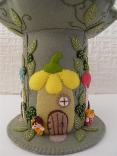 Fairy Avenue Felt Pincushion