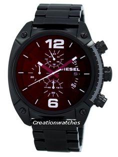 edd405a9242 Diesel Mega Chief Quartz Chronograph DZ4316 Men s Watch Authentic Watches