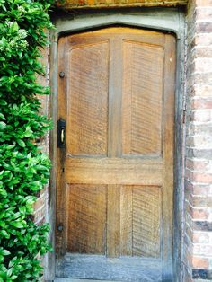 Rufford old hall. Back door into stable yard