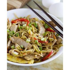 Still on the healthy bandwagon? This Egg and Pork Lo Mein has less than 500 calories for a huge serving! Tag a healthy friend! http://www.tasteandtellblog.com/egg-pork-lo-mein-recipe/ #tasteandtellrecipe #cookbookreview #healthy #light #menuplanning #dinnertonight #dinner #pasta #eeeeeats #foodie #f52grams #feedfeed #foodfeed #foodnetwork #thekitchn #todayfood #instagood #instafood #healthyeating #eathealthy #healthylife