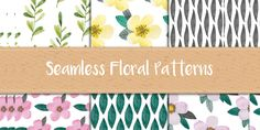 An Ultimate Collection of Free Seamless Patterns in Many Categories. Watercolor Patterns, Wood Patterns, Paper Patterns and Much More.