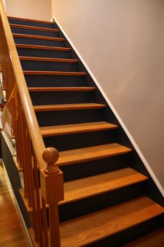 High Quality Painted Staircase Risers   Google Search