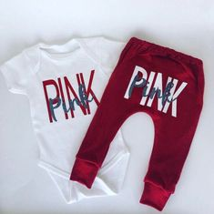 Pink outfit / baby girl clothes / baby girl outfit / toddler girl outfit / newborn girl clothes / pink baby outfit / takehome outfit – Baby For look here Baby Pink Clothes, Newborn Boy Clothes, Newborn Girl Outfits, Pink Outfits, Baby Girl Newborn, Boy Outfits, Cute Outfits For Kids, Toddler Outfits, Toddler Girls