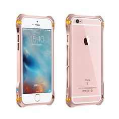 Железный человек для Apple , iphone6 6 S телефон чехол алюминиевый металлический каркас бампер sector6S i6S pg4.7 купить на AliExpress