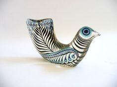 Rare Abraham Palatnik Lucite Dove Sculpture by mascarajones