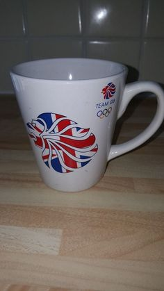 Team GB Commemorative Mug Paralympics GB London 2012