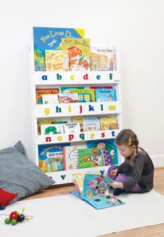 Bücherregal kinderzimmer ikea  Use BEKVÄM spice rack from IKEA as a book shelf #IKEA ...