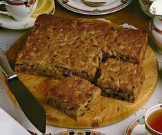 Moist apple and date cake, apple recipe, brought to you by Australian Women's Weekly Date Recipes, Apple Cake Recipes, Sweet Recipes, Apple Cakes, Weekly Recipes, Banana Recipes, Ww Recipes, Family Recipes, Bread Recipes