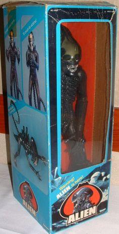KENNER: 1978 Alien Action Figure #Vintage #Toys