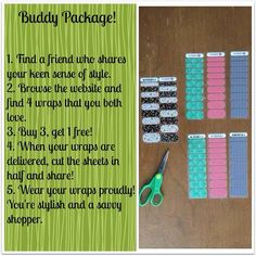 What a great idea! • Jamberry Nail wraps