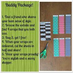 What a great idea! • Jamberry Nail wraps www.jenrelph.jamberrynails.net