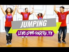 Jumping (Mega Mix 44) | Zumba® Choreography by Kristie | Live Love Party - YouTube