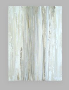 This is an original one of a kind painting by acrylic artist Ora Birenbaum. Love this look of monochromatic neutrals with lots of texture. I