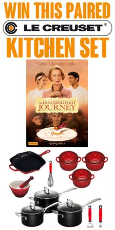 Win a Le Creuset Kitchen Pack  #Win #Creuset #Kitchen #Pack #Cooking #Equipment #Competition