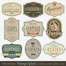 """Résultat de recherche d'images pour """"etiquette vintage"""""""