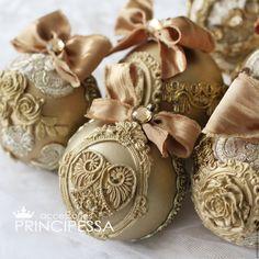 """Купить """"Золото"""" новогодний набор - золотой, аксессуары, Аксессуары handmade, аксессуары для фотосессий"""