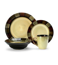 Delicieux Pfaltzgraff Everyday Taos 16 Pieces Dinnerware Set From UnbeatableSale    The Muted Colors Of Pfaltzgraffu0027s Taos Dinnerware Were Seemingly Snatch