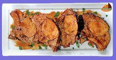 Habéis visto que delicia de Chuletas? Una delicia de Receta, con su salsa de Jerez para chuparse los dedos. Pulsar en la foto para ver la receta. http://cadizporestapa.blogspot.com.es/2016/09/chuletas-de-cerdo-al-jerez.html