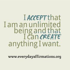 Everyday Affirmations for Daily Positivity: Daily Affirmations - 5 February 2014