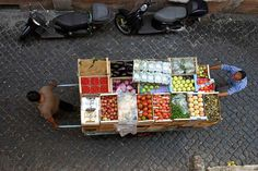 Produce venders by John Baird, via Flickr