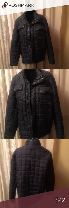 Tommy Hilfiger jacket Tommy Hilfiger, mens jacket, in great condition has pockets on the outside and a pocket inside. It's mens but didn't matter to me i wore it and i'm a women. Very confy and light weight. No stains or tears. Jackets & Coats