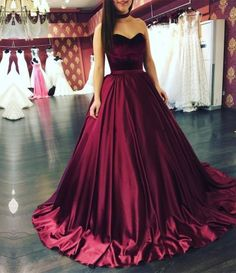 Maroon Quinceanera Dresses 2
