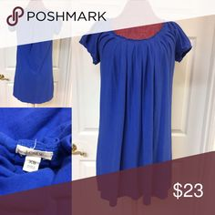 J. Crew Royal Blue Jersey Dress Size XS X-Small No stains or tears! Great shape! Beautiful summer dress Size XS. J. Crew Dresses