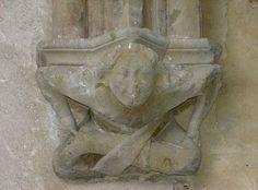 culot-cloitre-Abbaye d'abondance.Haute Savoie