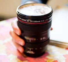 Camera Lens Mug <3