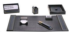 Navy Blue Leather 24kt Gold-Tooled 7-Piece Desk Set WAUCUSTD50040 Wood Arts Universe http://www.amazon.com/dp/B00Y3L7NCK/ref=cm_sw_r_pi_dp_ZuMBvb08WTY0K