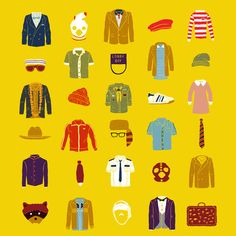 Wes Anderson´s Luggage Canvas Print