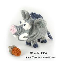 Wilbur the Wild Boar - Amigurumipatterns.net