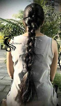 Indian Hairstyles, Braided Hairstyles, Cool Hairstyles, Indian Long Hair Braid, Desi Girl Image, Long Black Hair, Beautiful Braids, Super Long Hair, Braids For Long Hair