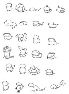 Cute Animal Drawing Drawings In 2019 Drawings Cute Drawings