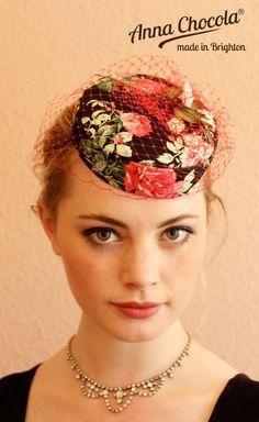 Anna Chocola® Brighton Pillbox Hat