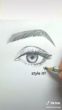 Art Drawings Sketches Simple, Pencil Art Drawings, Realistic Drawings, Cool Drawings, Drawing Ideas, Disney Drawings, Face Drawing Tutorials, Sketches Of Eyes, How To Draw Realistic