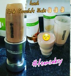 Swap it for a low calorie high in nutrition Herbalife Chocolate Shake.  Jammed packed with nutrients to make u feel amazing👌👌👌 Deliveries can be arranged!  Or  Pick up at 58 Juniper Rd  Behind Overport City Atrium Mall  @ The Gazette Newspape  Herbalife Independant Distributor  Sakz Shaik: 076 527 1432 ☎031 2084108 💚💚💚💚💚💚💚💚 #sakzshaik  #herbalifeindependantdistributor #Herbalifenutritionsouthafrica #herbalifedurban #healthymeals #herbalifeoverport  #weightloss… Chocolate Shake, Herbalife Nutrition, Nutribullet, Atrium, Mall, Clean Eating, Weight Loss, Healthy Recipes, Canning