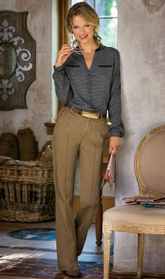 Soft Surroundings offers stylish, luxurious & comfortable women's clothes for every size. Feel your best in the softest fabrics from Soft Surroundings. Casual Night Out, Classy Casual, Casual Elegance, Classy Outfits, New Outfits, Cute Outfits, Work Outfits, Classy Trends, Professional Wardrobe