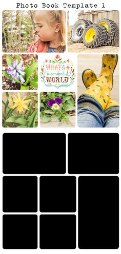 Free Project Life/Digital Photo Book Templates - My Crazy Life as a Farmers Wife