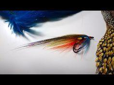 Tying the Gary Scott Variant Salmon Fly by Davie McPhail - YouTube