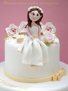 comunione cake  by Alessandra Cake Designer, via Flickr