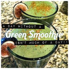 I drink a green smoothie every day. One if the tastiest, simplest ways to get…