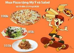 Khuyến mãi Pizza Al Fresco's mua 2 tặng 1 trong tháng 4-2014 | ghienkhuyenmai