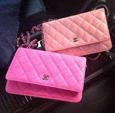 Chanel wallet on chain twins